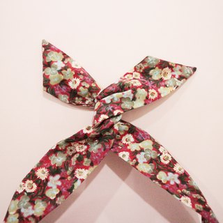 JOJA│ no time to play Wen Qing take the name: Japanese cloth handmade aluminum ribbon