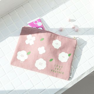 Flower flower cotton storage bag 01. earth powder