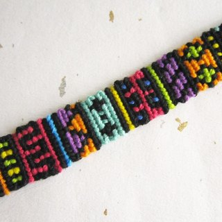 Creative geometric lucky rope woven bracelet (optional color)
