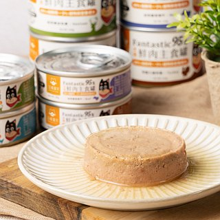 95% dog staple food cans - quail egg chicken / turkey / cow / deer 85g [Wang Yixing]