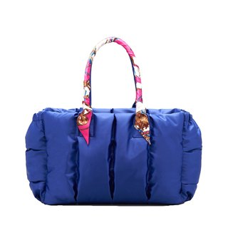 VOUS Luxury Mother Bag Classic Series Starry Blue + Pink Lady Scarf