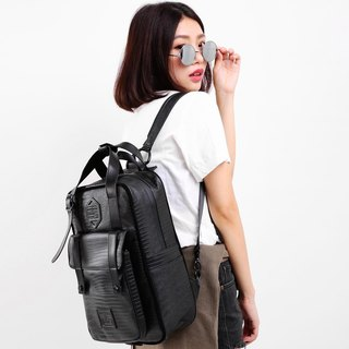 2017 Twin Series ║ Cosmic Roaming Pack (M) - Pure Black Crocodile ║