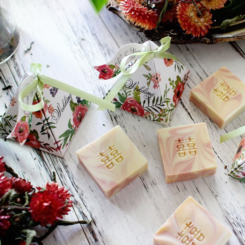 [Lai Anbai handmade soap] colorful garden. Wedding small things │ exploration room │ second entry │ bath soap