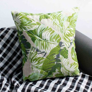 Outdoor picnic fat pillow (including MIT pillow) - tropical rainforest