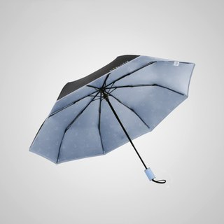 [Germany Kobold] Anti-UV Rotating Ballet Series - Ultra-lightweight - Hidden Umbrella Beads - Shade Sunscreen 30 Fold Umbrella - Light Blue