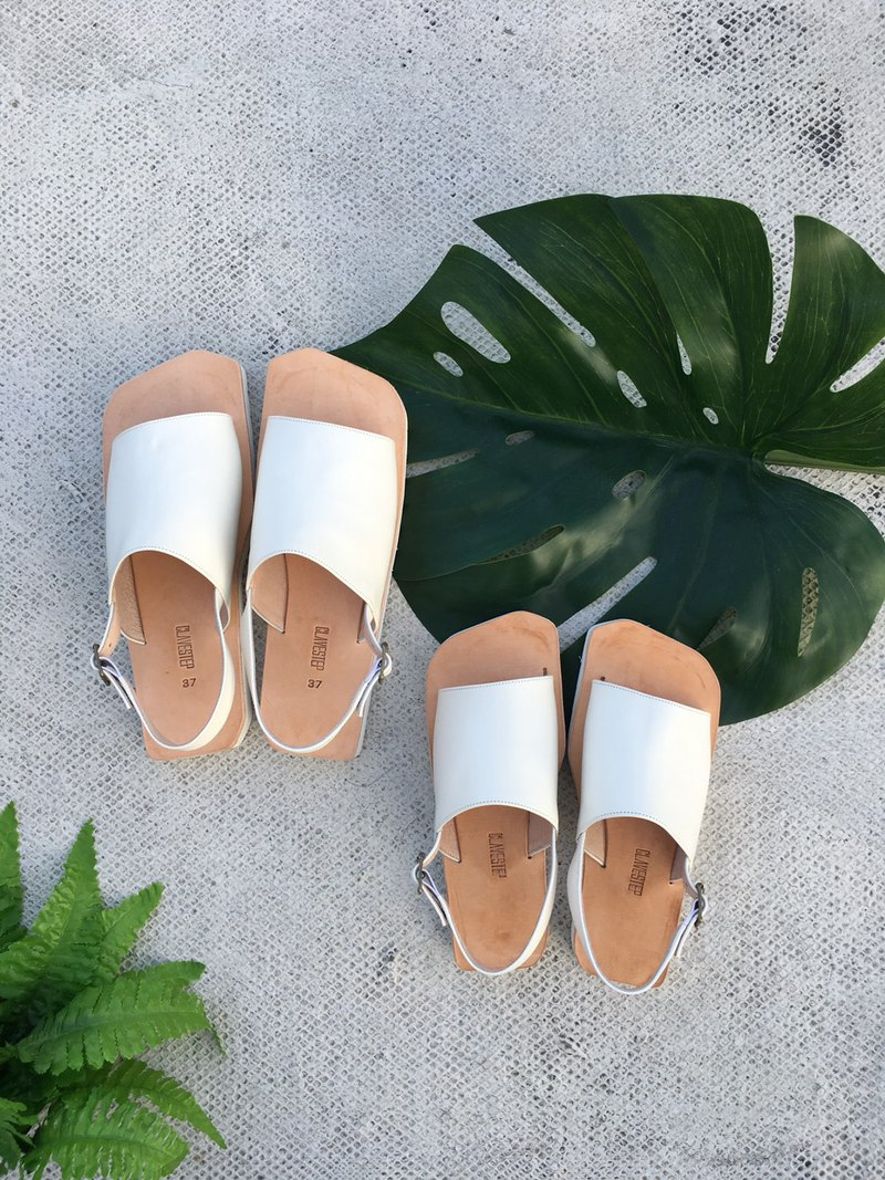 CLAVESTEP XI Sandals - Leather Sandals - Eleven