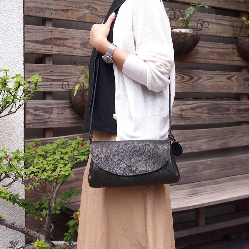 Japanese fashion beautiful and delicate handmade multi-layer folded side backpack Made in Japan by CHAM