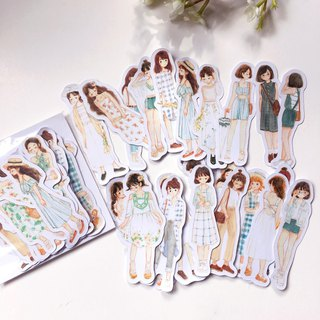 Carrie's Girl Fashion Stickers pack 24pcs