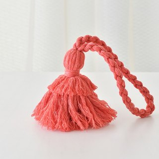 "Tassel key chain ""Hinoki red"""