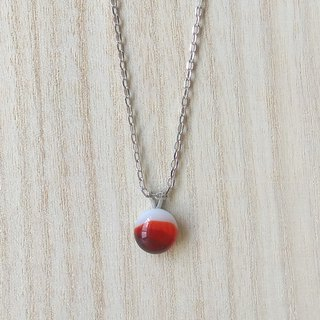 Huoshan Mountain Glass Necklace / Clavicle Chain