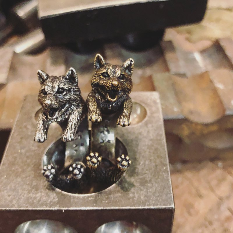 Cat dog ring