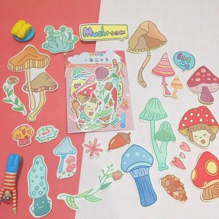 Little Mushroom World / Sticker Pack