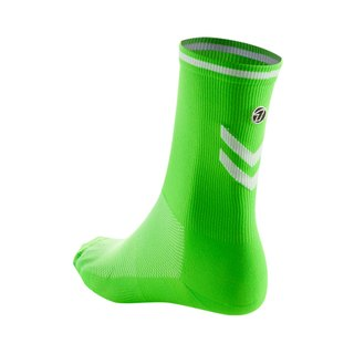 Road Cycling Socks - fluorescent green