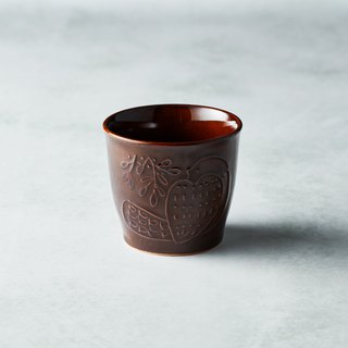 Shimaru Pazomi-yaki - Mori-no-Song Pottery Cup - Tree Coffee
