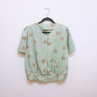 / Lin Meng Dream / Pink Green Star Small Star Shirt