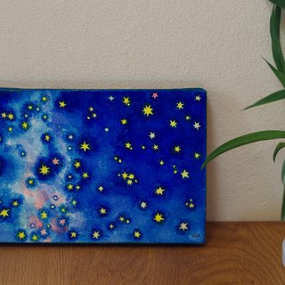 milky way /original painting/water color/art
