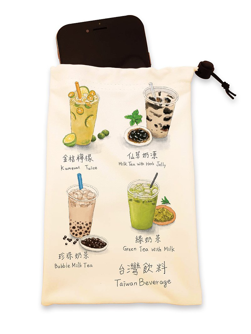 Wipe the universal bag hand-painted beverage ll mobile phone bag