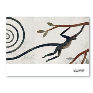 Bologna 50th Anniversary Illustration - Monkey, Wind Messenger - Postcard