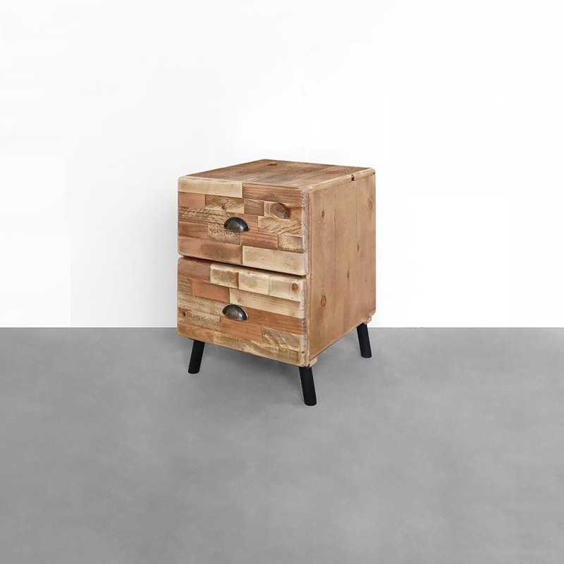 McGovern bedside table made old CU055