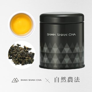 [Mountains came to tea] natural farming method Cuiyu Oolong tea (37.5g/can)