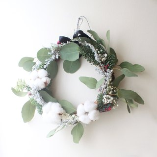 Forest Princess Dream Wreath, Nobelson and Eucalyptus Leaf Dry Flower Ceremony