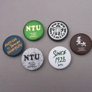 Taiwan University Badge NTU BADGE 2018 S/S - Six