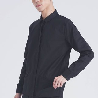 Hem pocket design shirt #9025