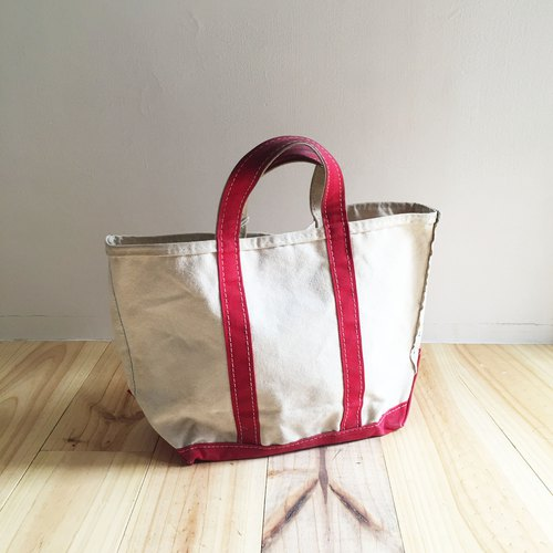 A ROOM MODEL - VINTAGE - LLBean Red Tote / BD-0853