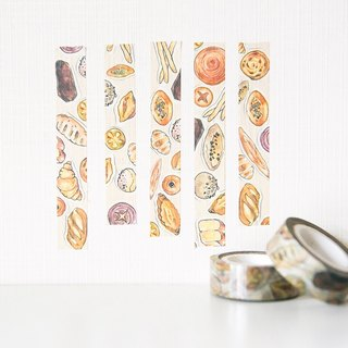 Fanatic sales love color lead illustration bread and paper tape Polaroid decoration Xiao Wenqing