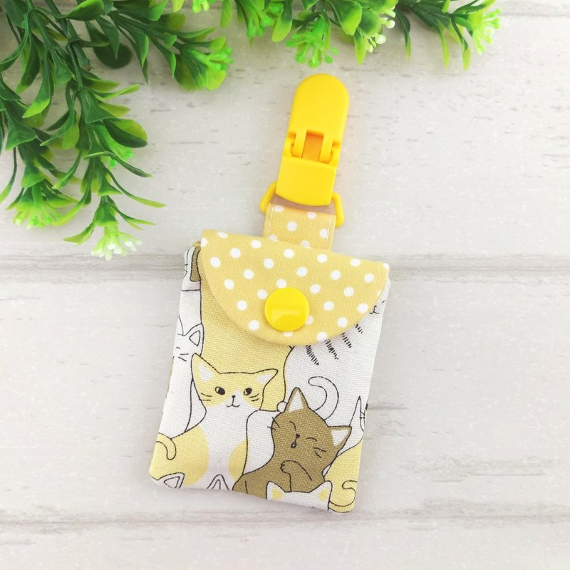 Milk tea cat. Ping Fu bag (can increase 40 embroidered name)