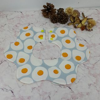 Poached egg flower pocket / baby bibs / bibs [FL171105]