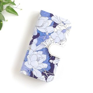 Liberty iphone 6.6s.7.8 notebook case case water lily