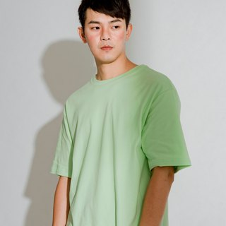 Hao Mint Boxy Tee Mint Green Wide Short Tee