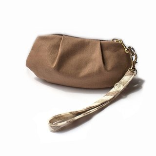 Shell Coin Purse (cafe mocha)