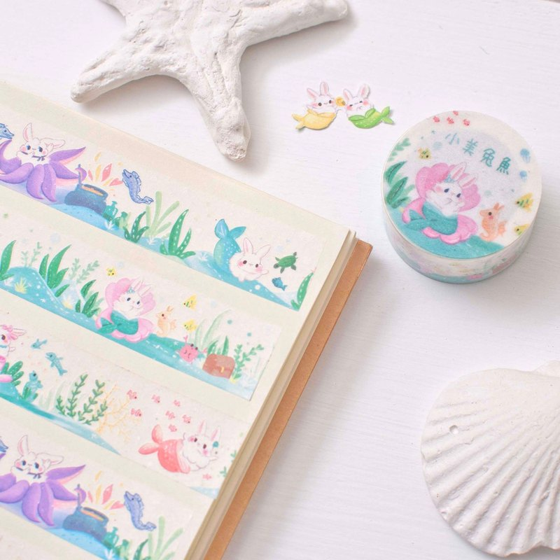 The Little Mermaid x Bunny _ Masking tape