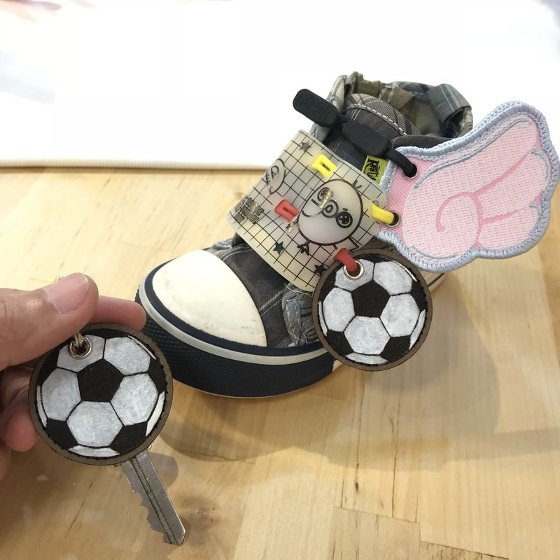[shoes decoration] football key set