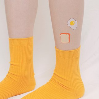 Surprise Tattoos / Toasts with egg Temporary Tattoo