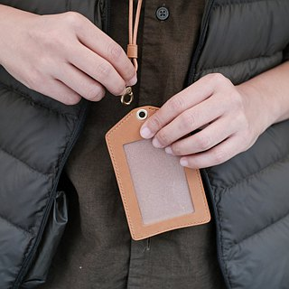 Handmade double-layer document set / identification card set / leisure card set / buttero series vegetable tanned leather