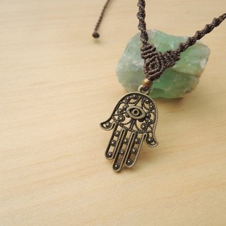 Lucky Goddess / Brazilian Silk Wax Necklace