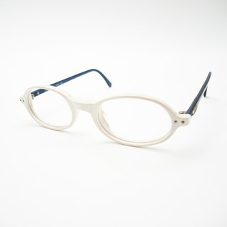 Monroe Optical Shop / 90 small semi-circular handmade sheet glasses frame no.A07 vintage