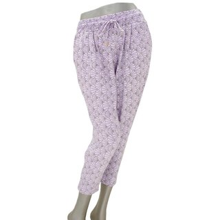 Mood of the mermaid princess ♪ Mermaid shell stretch pants <Purple>