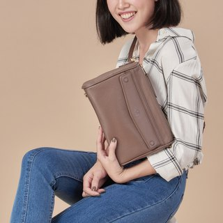 Grace : Crossbody bag, Warm taupe bag, everyday bag
