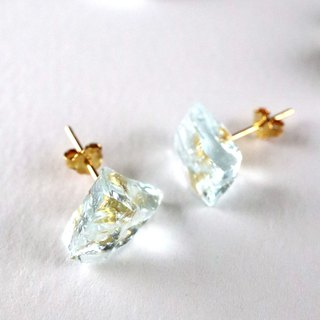 STAR STONE stud earrings - BLUE