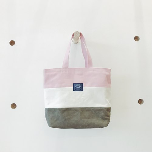 :: :: Bangs tree mixed colors portable small tote bag _ Oufen meters glaucum