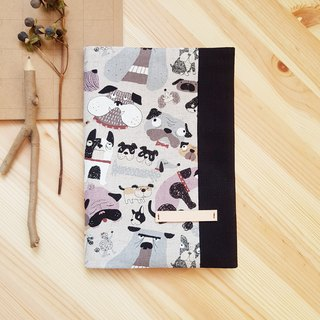 A5/25K adjustable cloth book dog collection