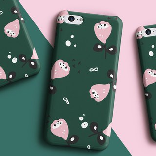Pocket flower green Phone case