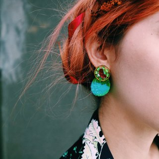 |Green Candy | Ear Pin