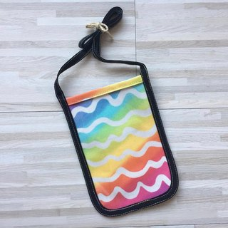 Phone hanging neck package _ rainbow wave models