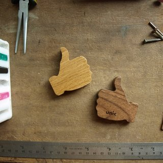 Unic wood thumb shape tape measure [customizable]