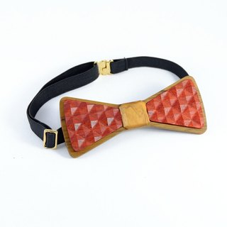 Wood logs tie tie 3D WOOD TIE Milimite creative fashion classic red ceremony Limited